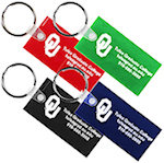 Rectangle Key Fobs
